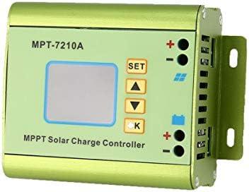 nbvmngjhjlkjlUK LCD MPPT Solarregler Laderegler 24/36/48/60 / 72V Boost MPT-7210A Solarregler Laderegler (grün)