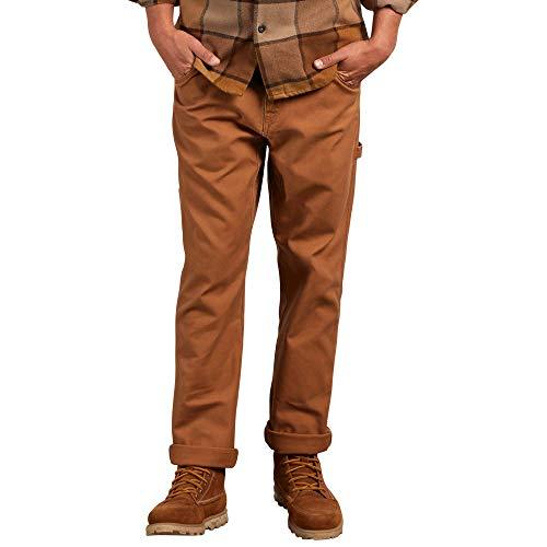 Volcom Men's VSM Whaler Workwear Chino Pant, Camel, 31