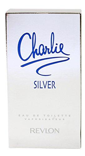 Charlie Silver by Revlon for WomenEau De Toilette Spray, 3.4 Ounce