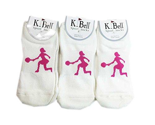 - Aesthetinc Women Cross Court Footie Sport Socks (Fuchsia)