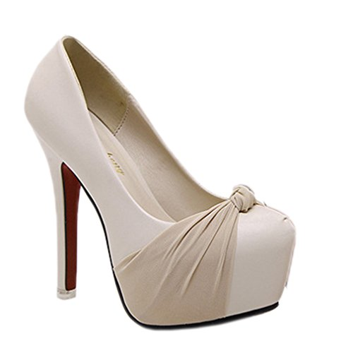 Professional Shoes Abricot Xianshu superficiel Bain Women talons hauts à pI6qOdF6w