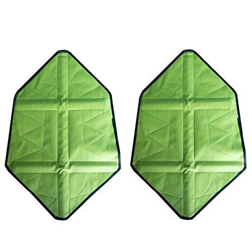 8Eninise Paso en calcetí n Manos Libres Cubre Zapatos Zapato Reutilizable Cubierta de Bota Cubiertas automá ticas Verde