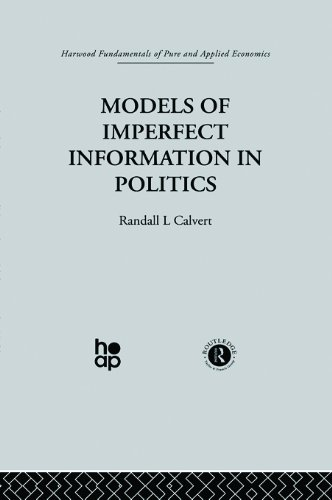 Download Models of Imperfect Information in Politics Pdf
