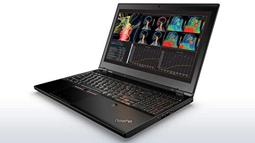 "Lenovo ThinkPad P50 20EN0018US Laptop (Windows 7 Pro, Intel Core i7, 15.6"" LED-Lit Screen, Storage: 256 GB, RAM: 8 GB) Black"
