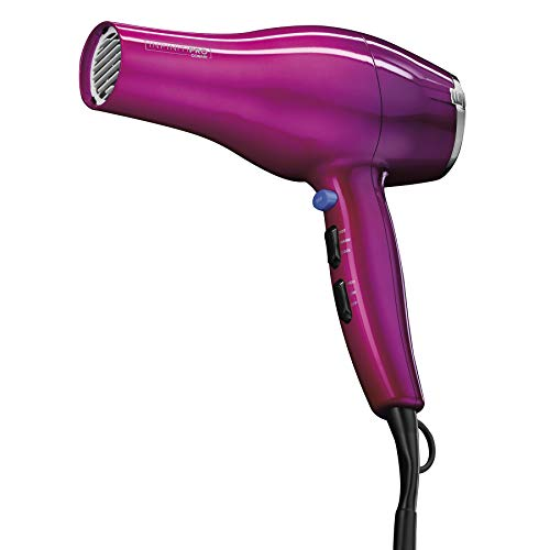 INFINITIPRO BY CONAIR 1875 Watt Salon Performance Hair Dryer/Styler, Full Size with AC Motor, Pink Ombre (Conair Pro Infiniti Hair Dryer)