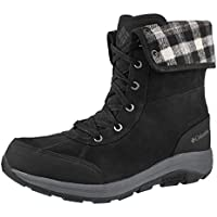 Columbia Men's Bangor Omni-Heat Waterproof Winter Boot (Black)