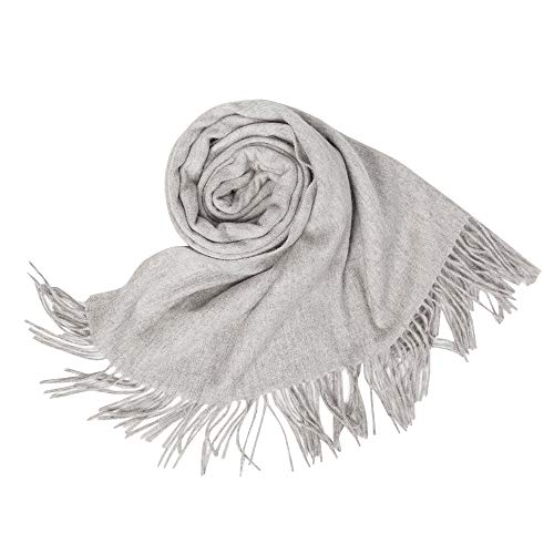 KAISIN 100% Wool Women Soft Shawl Ultra-Plush Comfort Largesize Blanket Scarf,Use For Home,Outdoor,Travel by KAISIN (Image #1)