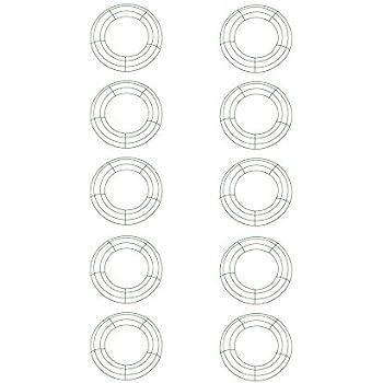 Amazon.com: Panacea 36003 Wire Wreath Frame 12\