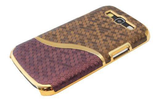 avci Base 4260310648033S-Line Look Chrome dur Coque pour Samsung Galaxy S3i9300/S3Neo i9301Marron