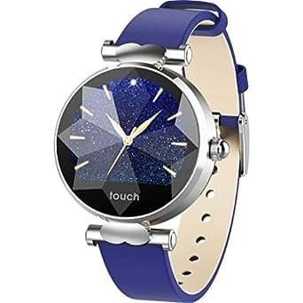 Multifunción Reloj Inteligente,Honestyi Redondo Smartwatch ...