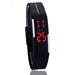 2016 new fashion touch screen LED digital bracelet watches women watch sport watch silicone watches.