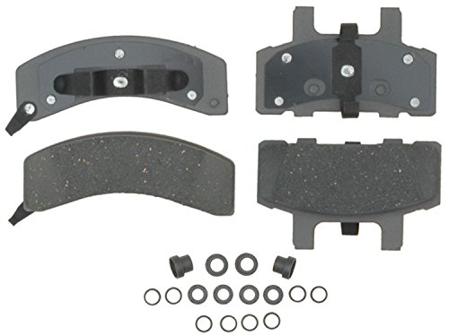 Chevrolet C2500 Brake (ACDelco 14D369CH Advantage Ceramic Front Disc Brake Pad Set with Hardware)
