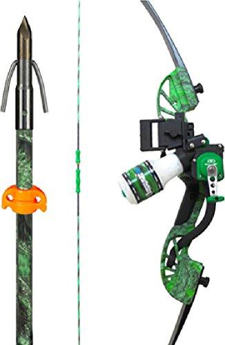 Ams bowfishing water moc 45 recurve bowfishing kit for Crossbow fishing kit