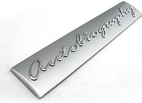 Dmwfaker for Land Rover Range Sport LR3 LR4,Autobiography Tailgate Emblem Car Badge Plate