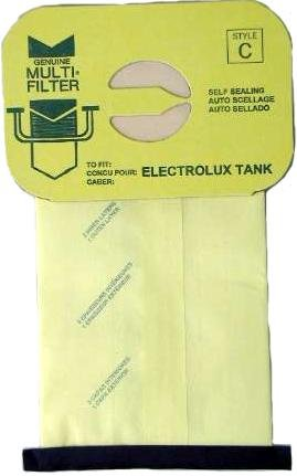 Electrolux Canister Vacuum Bags - 100 bags
