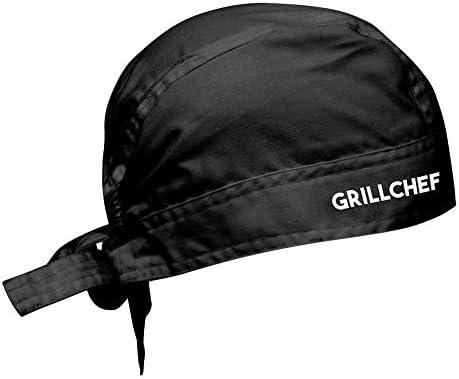 Roxyshirt BBQ Grill Schürze mit Zubehör Grill Chef Papa Grillzubehör Geschenkset Griller