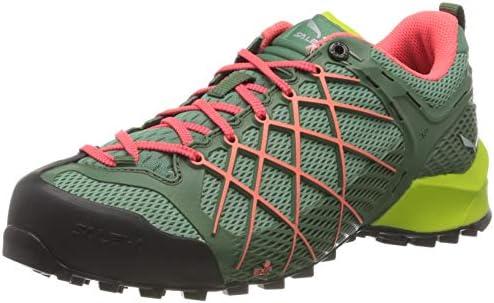 Salewa Women s Trekking Hiking Boots Low Rise Hiking Shoes, Myrtle Tender Shot, 6.5 us