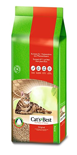 Cat's Best Öko Plus Cat Litter, 30 L