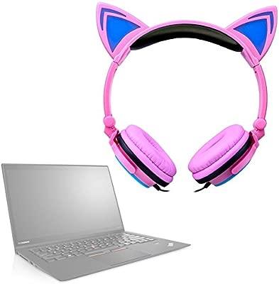 Auricular Audio AUX orejas de gato LED para Lenovo ThinkPad ...