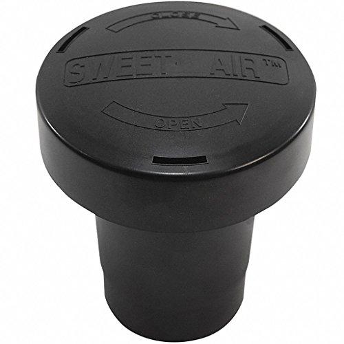 ABS Black Vent Stack Filter, 3