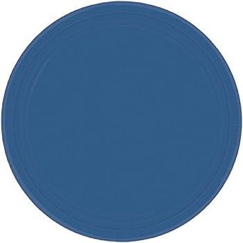 navy blue paper cake plates 20ct kitchen dining. Black Bedroom Furniture Sets. Home Design Ideas