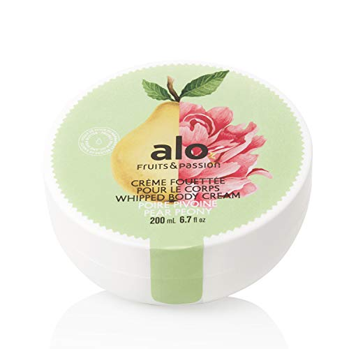 [Fruits and Passion] ALO Pear Peony Whipped Body Cream, Enriched Lotion to Nourish and Hydrate - 200 mL