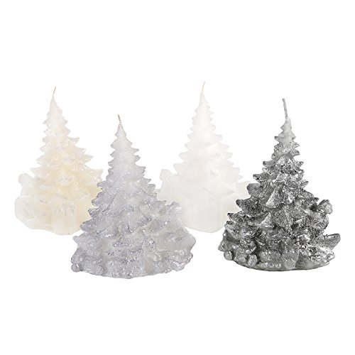 Candle Atelier 'Merry Christmas Trees' (Snow-covered) 4.7