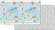"Skip Hop Little Travelers Reversible Waterproof Foam Baby Play Mat, Multi Colored, 86"""
