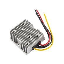 uxcell® Power Converter Regulator DC 48V(38V~60V) Step-Down to DC 12V 10A 120W Waterproof Voltage Convert Transformer