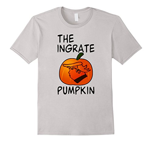 Comic Costume Ideas Strip (Mens Unwelcome Ingrate Pumpkin Funny Approval Rating Tshirt Medium)