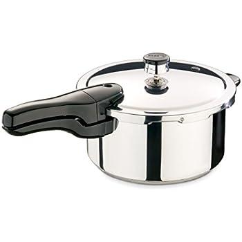 Presto 01341  4-Quart Stainless Steel Pressure Cooker