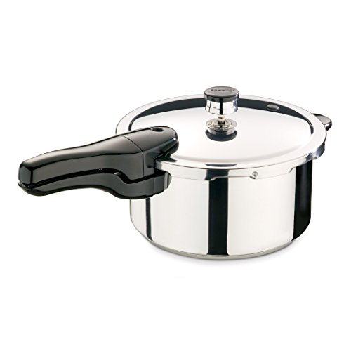 Presto 01341  4-Quart Stainless Steel Pressure Cooker