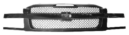 OE Replacement Chevrolet Avalanche Grille Assembly (Partslink Number GM1200543)