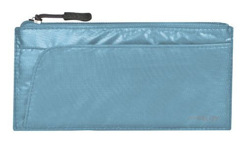 Travelon Luggage Safe Id Credit Card Wallet, Teal, One Size