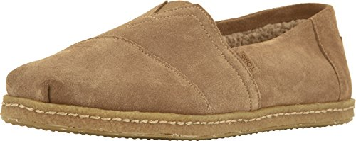 - TOMS Men's Venice Collection Alpargata Toffee Suede W/Shearling On Crepe 8 D US