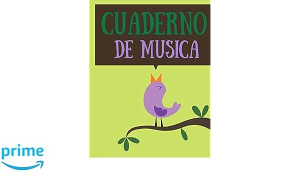Cuaderno de musica: Cuaderno De Música Pentagramado, Con 8 ...