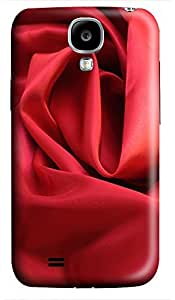 durable Samsung S4 cases Red Cloth 3D cover custom Samsung S4