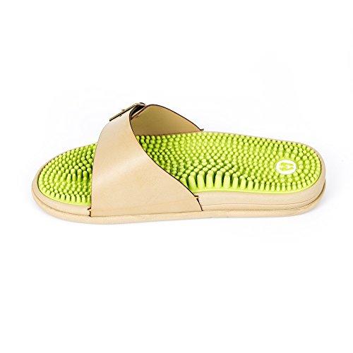 seguendo i Revs piede che I riflessologia il principi sandali massaggiano Verde della XY0WnFZq1W
