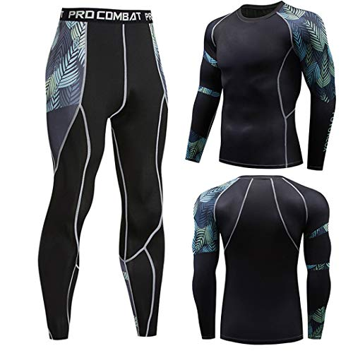 Winter Sunscreen Men's Compression Clothes 3D Teen Wolf Fitness Suit 2008 XL]()