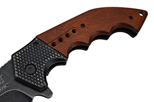 Snake Eye Tactical Everyday Carry Ultra Smooth One Hand Opening Folding Pocket Knife - Ideal for Recreational Work… 5