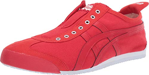 Onitsuka Tiger Unisex Mexico 66 Slip-on Shoes D3K0N, Classic Red/Classic Red, 5.5 M US