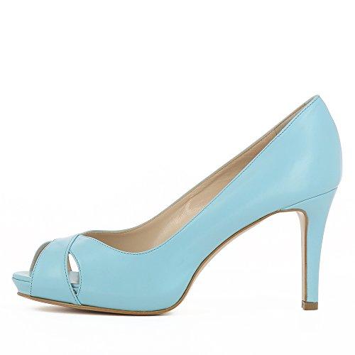 Col Shoes Scarpe Evita Tacco Turchese Donna Elisa ztRqwxC