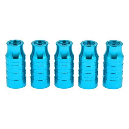 Baoblaze Premium Cubos de Rueda Delantera de Bicicletas para Reparación y Reemplazo - Azul