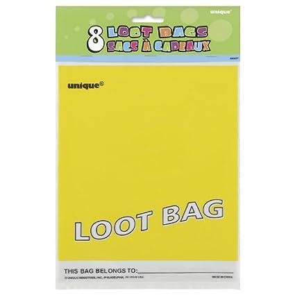 Parte bolsas amarillas (paquete de 8): Amazon.es: Juguetes y ...