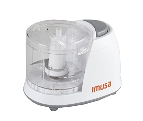 IMUSA USA GAU-80319W Mini Chopper 1.5-Cup, White