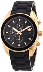 Emporio Armani Men's AR5954 Sport Black Dial Chronograph Watch