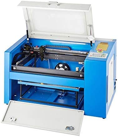 """Amazon.com: Orion Motor Tech 50W CO2 Laser Engraving Machine 20"""" x 12"""" Laser  Engraver Cutter with Rotary Axis and USB Port, Ruida Controller, RDWorks  V8, for Glass Wood Acrylic Plastic for DIY"""