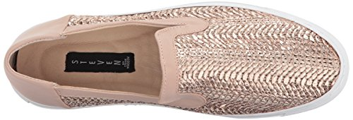 Rose Steve Gold Fashion Sneaker Women Madden STEVEN by Kenner 58nq7w0w