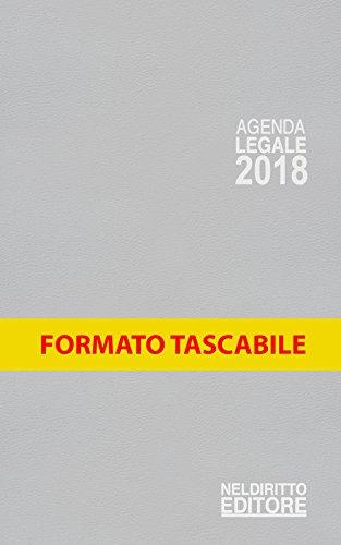 Agenda legale 2018 grigio. Ediz. minore