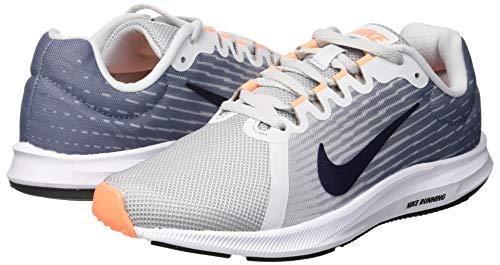 Da 009 Slate pure Nike Multicolore Platinum obsidian 8 Donna Fitness Scarpe ashen Downshifter qSpSRUt